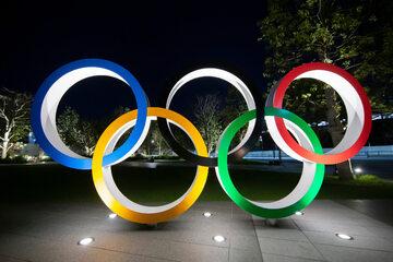Koła olimpijskie w Tokio