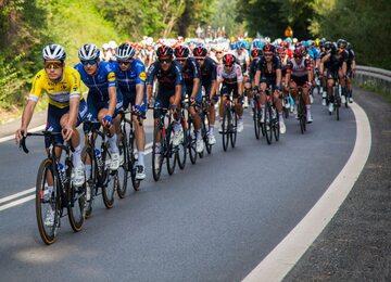 Kolarze na czwartym etapie 78. Tour de Pologne