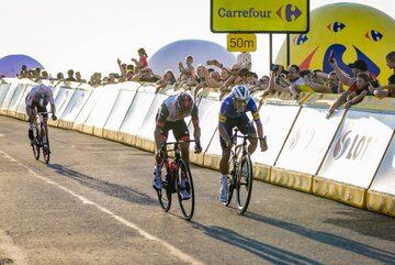 Kolarze na drugim etapie 78. Tour de Pologne