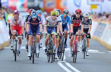 Kolarze na piątym etapie 78. Tour de Pologne