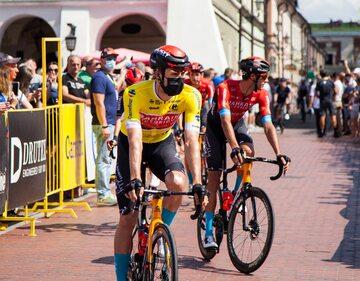 Kolarze w Tour de Pologne