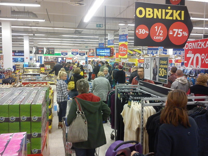 Kolejka w supermarkecie (zdj. iluistracyjne)