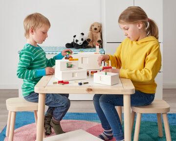 Kolekcja BYGGLEK od IKEA i Grupy LEGO