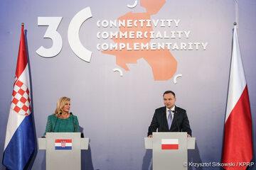 Kolinda Grabar Kitarović i Andrzej Duda