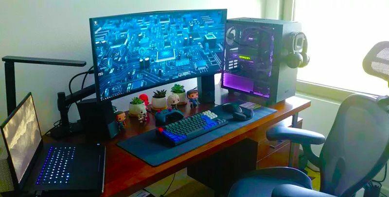 Komputer gamingowy (zdj. ilustracyjne)