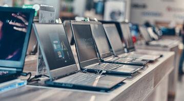 Komputery w sklepie
