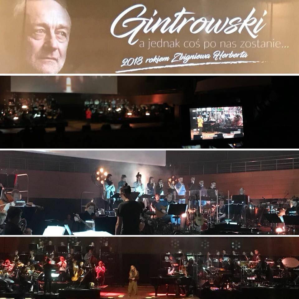"""Koncert """"Gintrowski - a jednak co po nas zostanie"""""""
