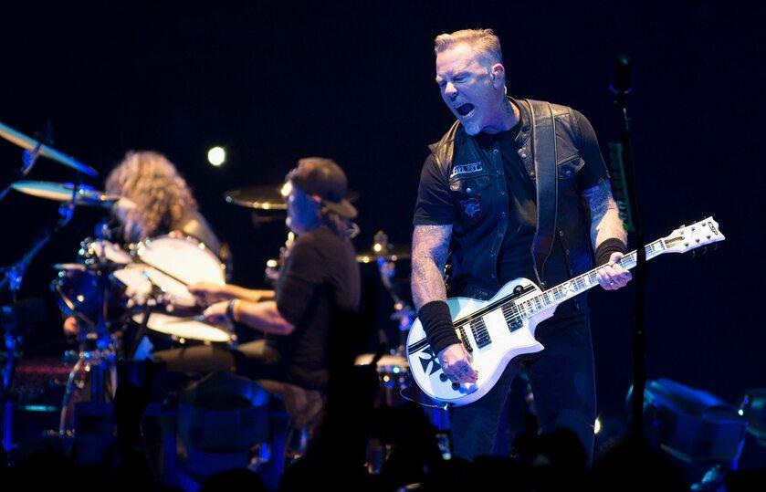 Koncert zespołu Metallica