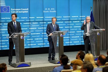 Konferencja Donalda Tuska oraz Jean Claude - Junckera