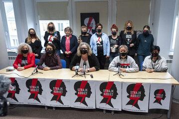 Konferencja Ogólnopolskiego Strajku Kobiet