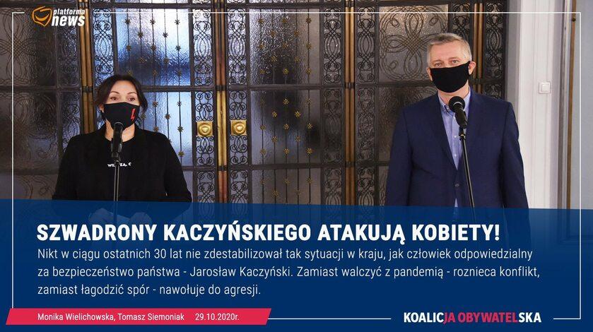 Konferencja polityków KO