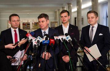 Konferencja rzeczników prasowych klubów parlamentarnych
