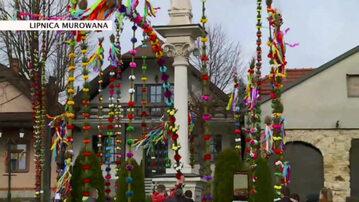 Konkurs na najwyższą palmę w Lipnicy Murowanej