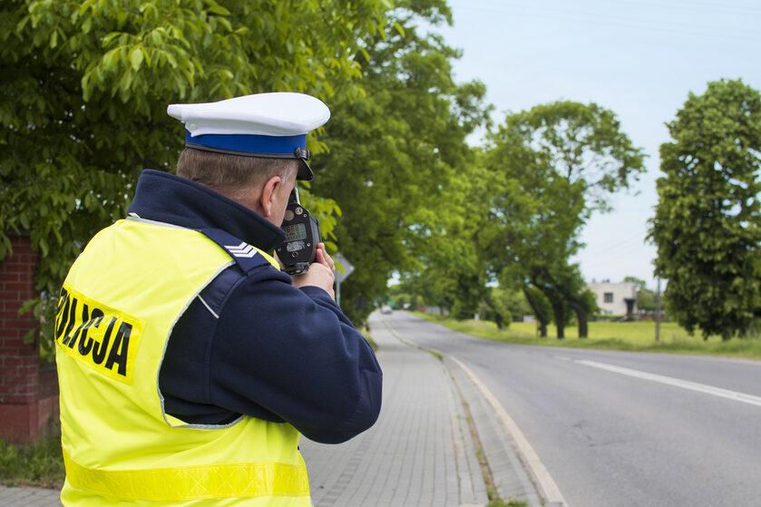 Kontrola drogowa, zdjęcie ilustracyjne