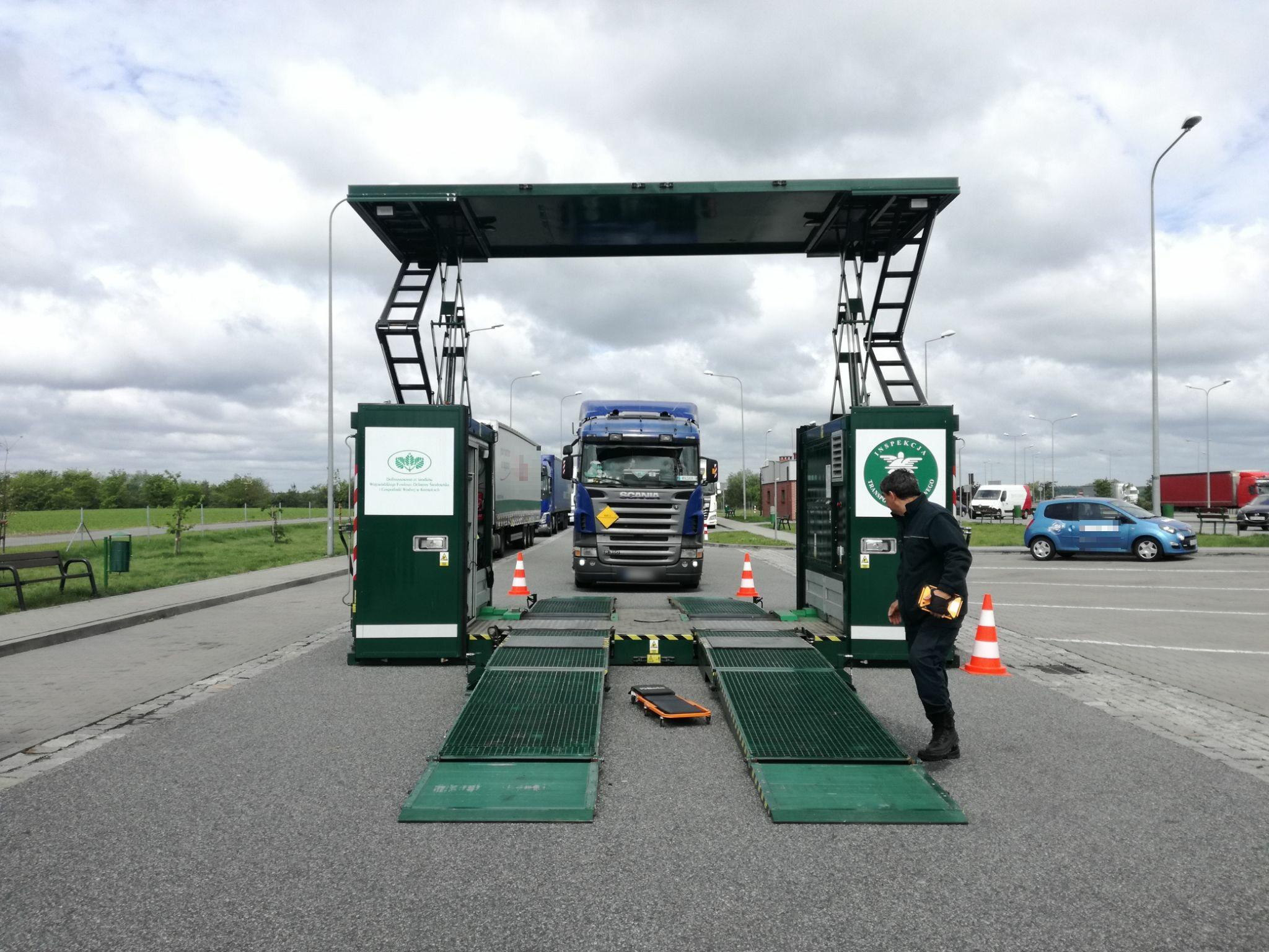 Kontrola ITD na autostradzie A4