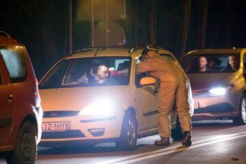 Kontrola na granicy w Gołkowicach