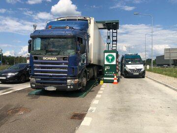 Kontrole ciężarówek