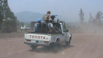 Konwój ONZ w Kongu, zdjęcie ilustracyjne