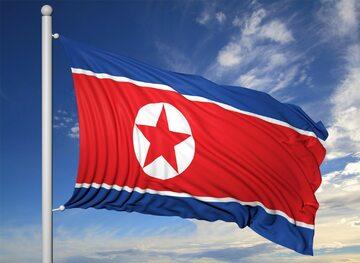 Korea Północna, flaga