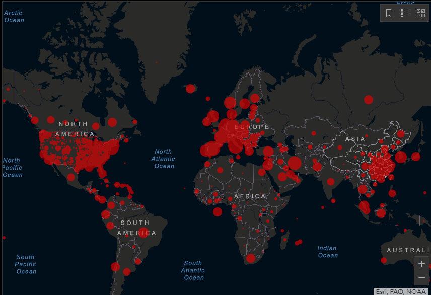Koronawirus na świecie
