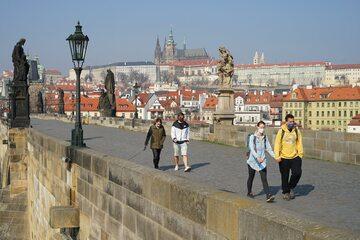 Koronawirus w Czechach, Praga w marcu 2020
