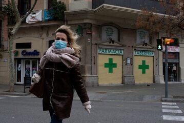 Koronawirus w Hiszpanii, zdjęcie ilustracyjne