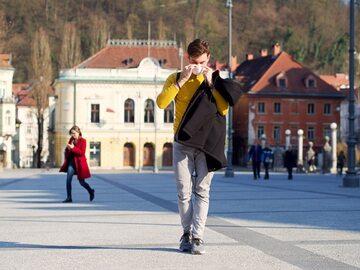 Koronawirus w stolicy Słowenii