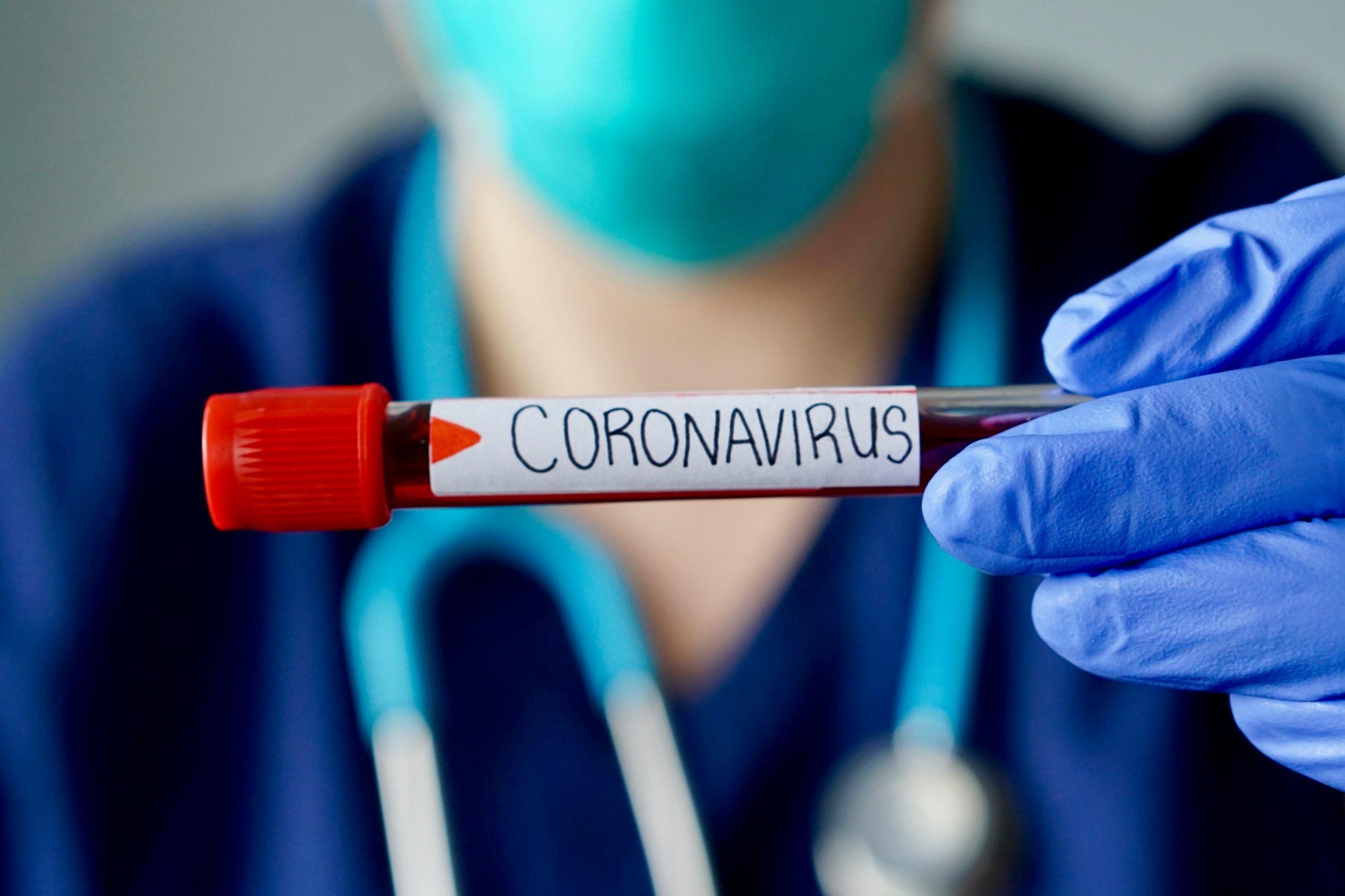 Koronawirus, zdjęcie ilustracyjne