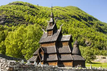 Kościół klepkowy w Borgund