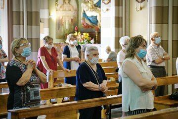 Kościół w czasie pandemii koronawirusa