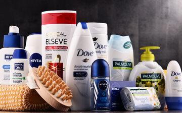 Kosmetyki marki Unilever, zdjęcie ilustracyjne