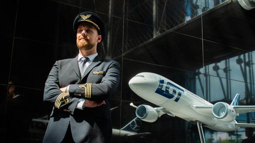 Kpt. Maciej Smólski, szef pilotów B787 PLL LOT