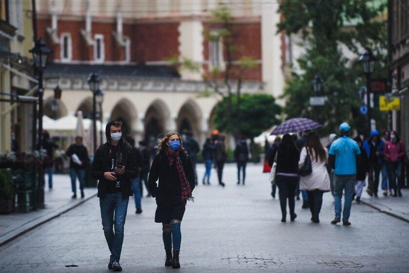 Kraków w czasie pandemii