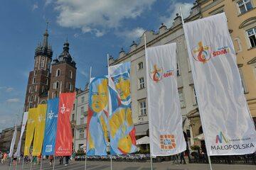 Kraków w przededniu Światowych Dni Młodzieży