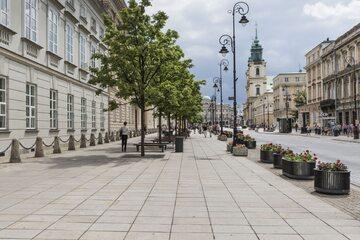 Krakowskie Przedmieście w Warszawie