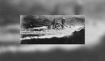Krążownik w lipcu 1942 roku