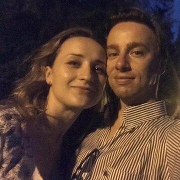 Krzysztof Bosak z żoną