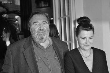 Krzysztof Kowalewski z żoną