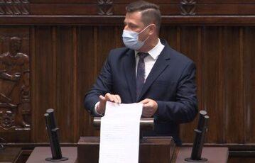 Krzysztof Paszyk w Sejmie – 21.07.2021