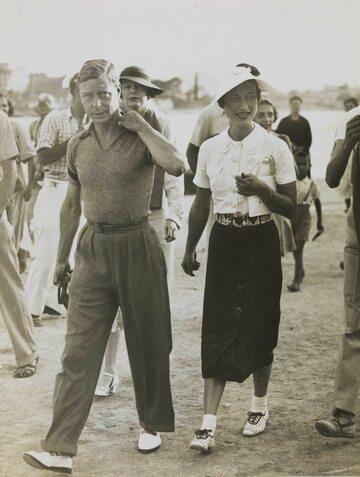 Książę Edward VIII i Wallis Simpson w trakcie wakacji w ówczesnej Jugosławii, rok 1936
