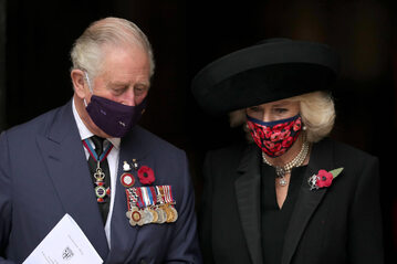 Książę Karol i księżna Kamila