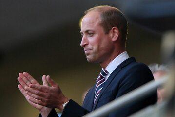 Książę William na trybunach Wembley