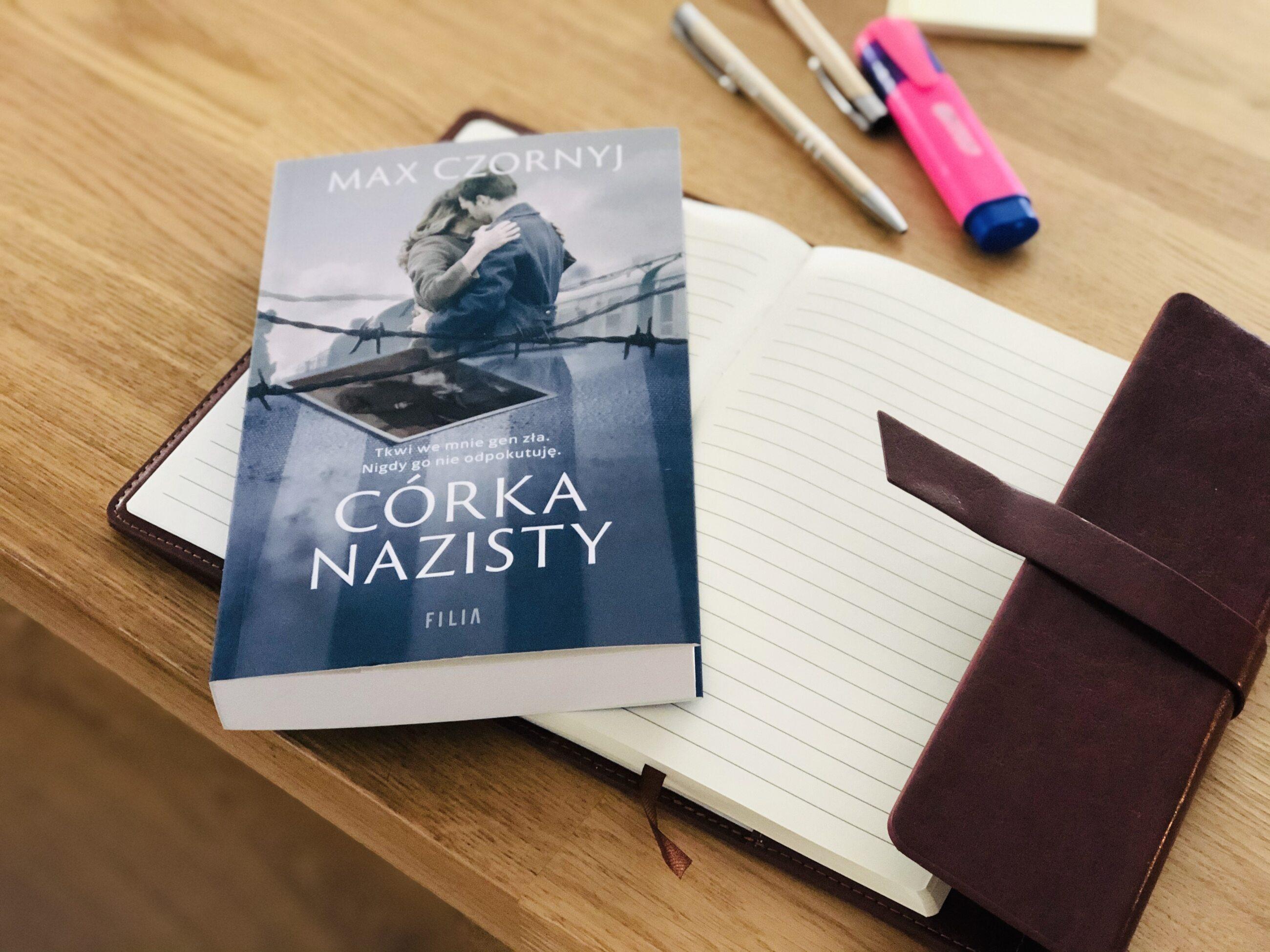 """Książka """"Córka nazisty"""""""