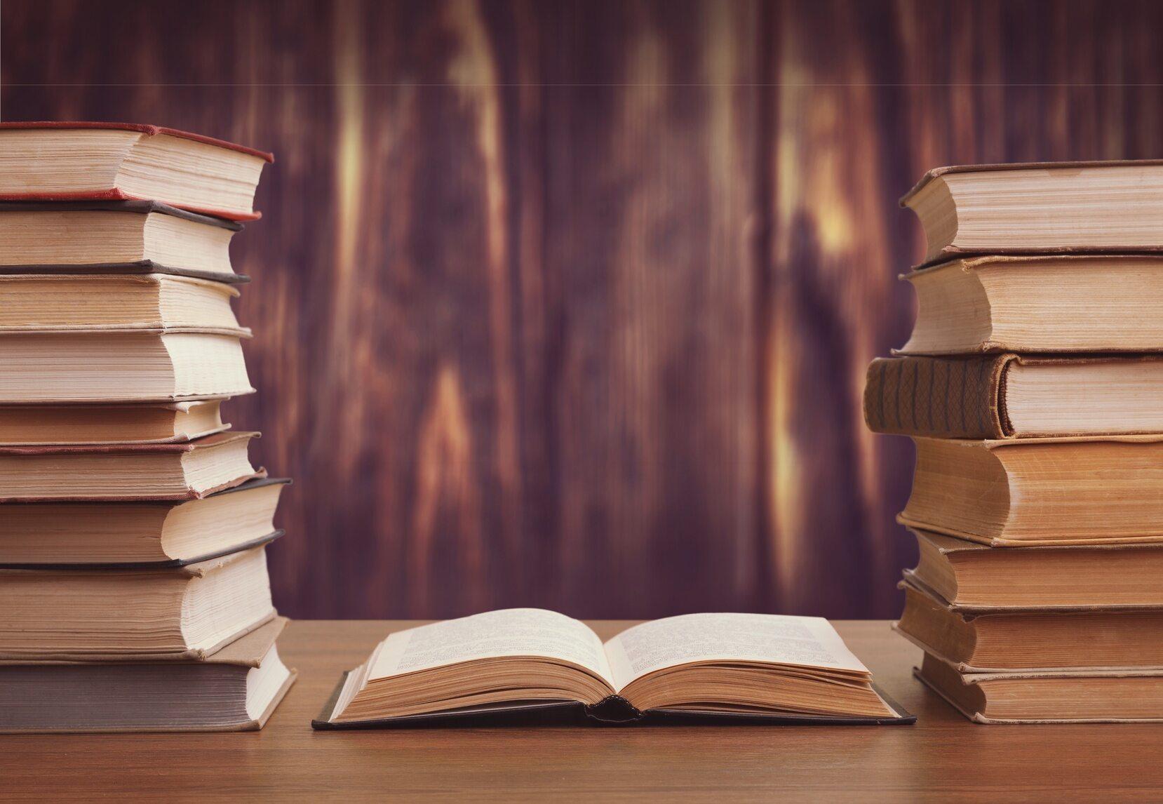 Książki, zdj. ilustracyjne