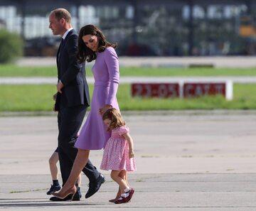 Księżna Kate i książę William w Hamburgu
