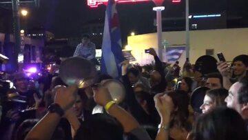 Kubańczycy świętowali w Miami