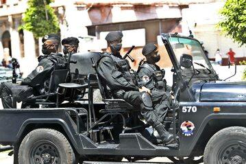 Kubańskie służby zabezpieczające stolicę po demonstracjach