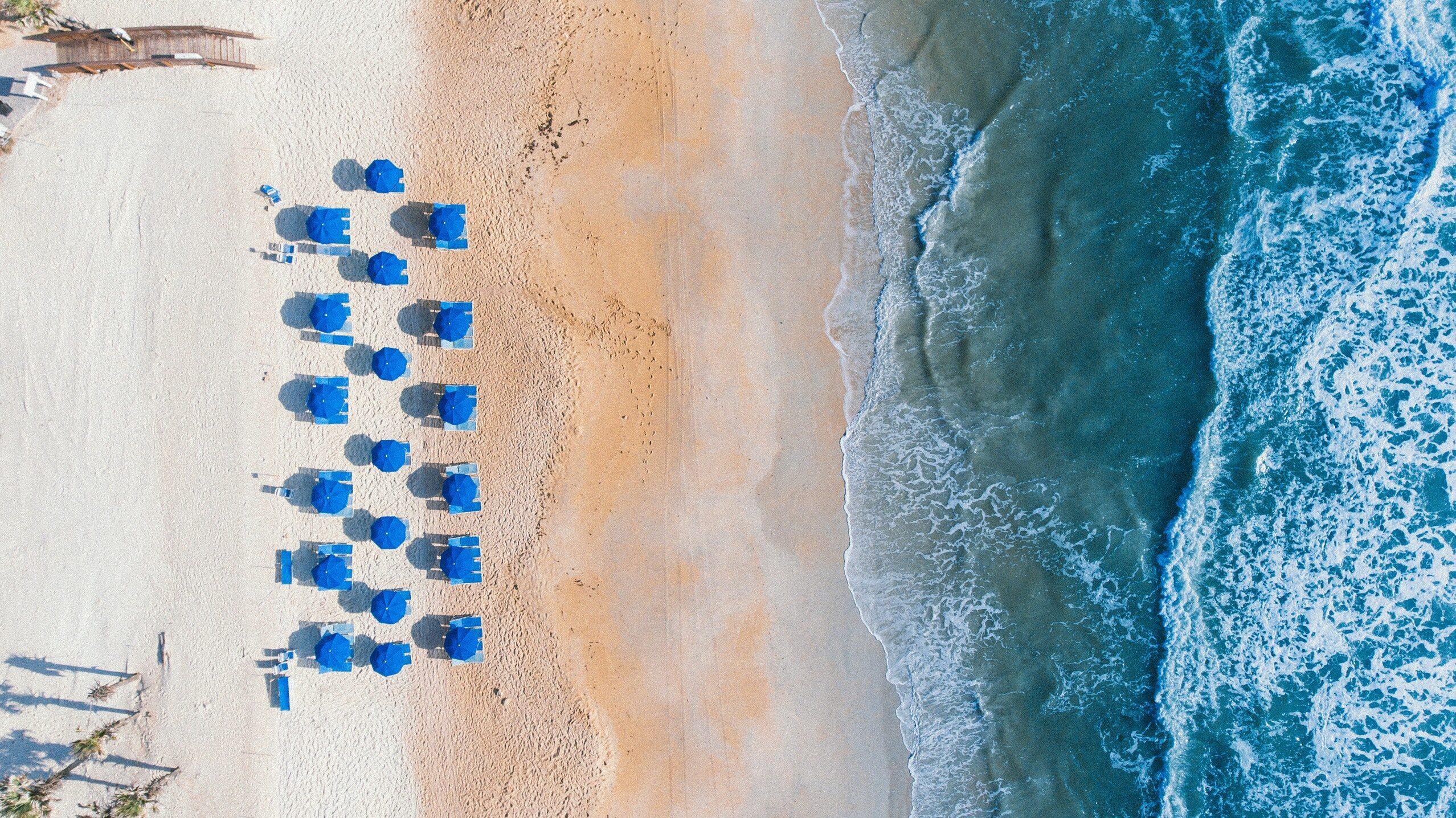 Kurort na plaży
