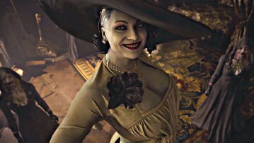 Lady Dimitrescu z gry Resident Evil Village