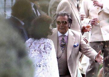 """Lady Gaga i Al Pacino. Zdjęcie z planu """"House of Gucci"""""""